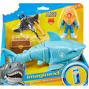 Imaginext Sharks Playset (1 fornito casualmente)