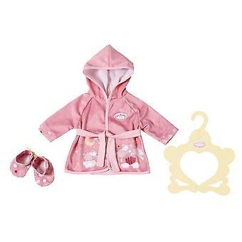 Baby annabell 701997 sweetdreams bademantel43cm sweet dreams robe 43cm, multi