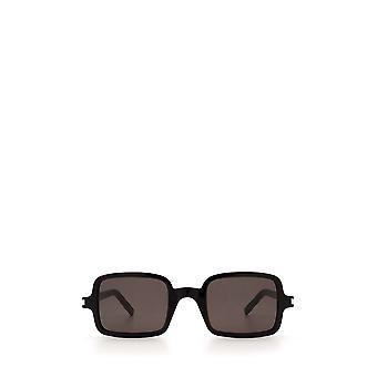 Saint Laurent SL 332 sorte unisex solbriller