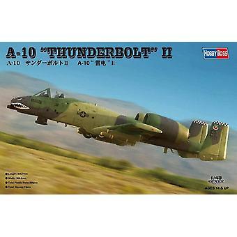 """Hobbyboss 80323"""" A-10 Thunderbolt 2"""" Model Kit, 1:48 Scale"""