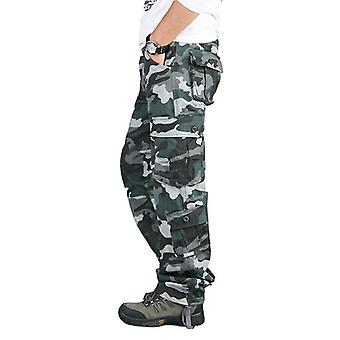 Military Army Uniform Camouflage Combat Tactical Trousers For Outdoor Training