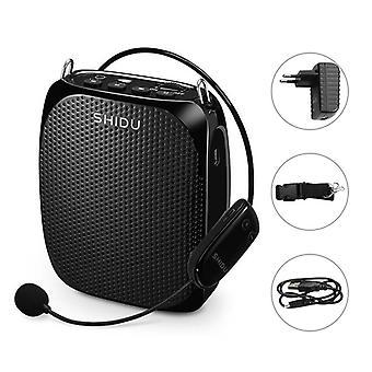 10w Voice Amplificateur Uhf Wireless Microphone Ultra Portable Mini Audio Haut-parleur