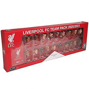 Liverpool SoccerStarz 19 Player Team Pack
