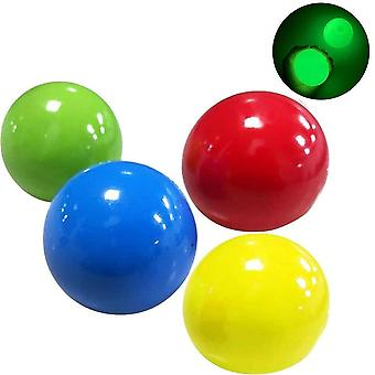Luminous Sticky Balls Stress Reliever Toy Sticky Wall Ball Decompression Toy