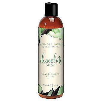 Intimate Earth Chocolate and Mint Massage Lotion 120 ml 6707