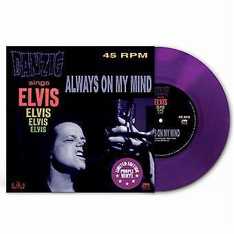 Danzig - Always On My Mind (Lila Vinyl) [Vinyl] USA import