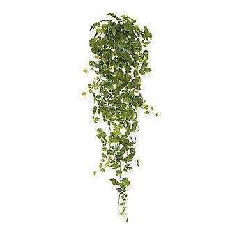 Hangingplant in acero artificiale 130 cm verde