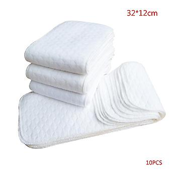 100% Cotton Washable Reusable Cloth Diaper For Babies (32 X 12cm)