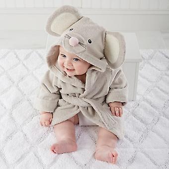 Shark Owl Hooded, Animal Modelling Infant&toddler's Bathrobe/ Cartoon Baby