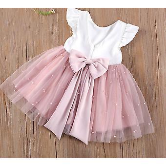 Princezná Toddler Tutu šaty, Pearl Tyl party tkaniny