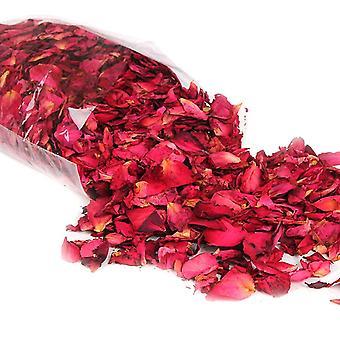 Naturalne suszone płatki róży, Suchy kwiat do kąpieli, Prysznic wybielający spa, Aromaterapia