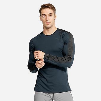 Running Sport T-shirt, Men Gym Long Sleeve T-shirt