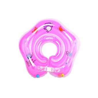Inflatable swimming ring soaking newborn baby swimming ring cartoon baby neck ring