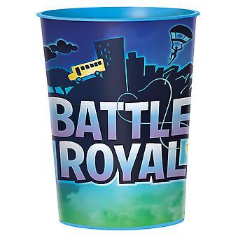 Royal battle plastic beker 473 ml