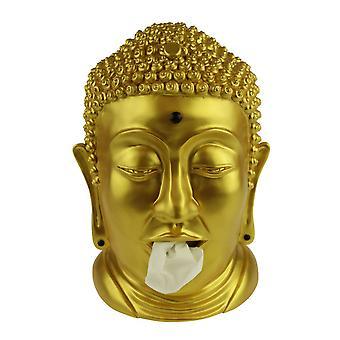 taschentuchhalter Budhha 32 cm Polyresin gold