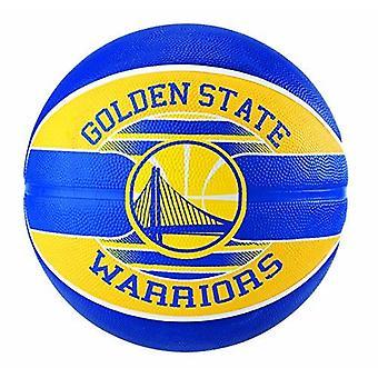 Spalding NBA virallinen joukkue logo pallo Golden State Warriors kumi koripallo