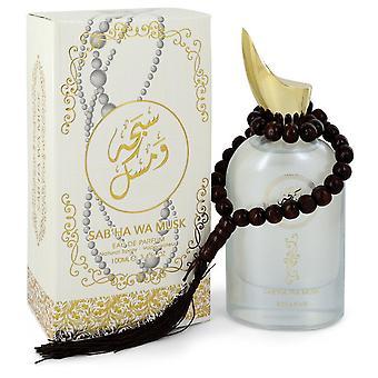 Rihanah Sab'ha Wa Musk by Rihanah Eau De Parfum Spray (Unisex) 3.4 oz