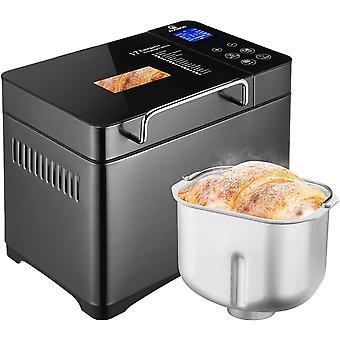 HanFei Brotbackautomat, 2LB 17-in-1 programmierbarer XL-Brotbackautomat mit Frucht-Nuss-Spender,