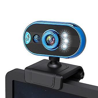 480P USB Webcam Laptop Computer Camera Clip-on PC Web Camera Messa a fuoco manuale