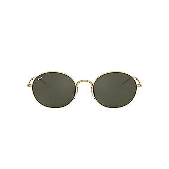 Ray-Ban 0RB3594 Sonnenbrille, Braun (Gummigold), 53.0 Unisex-Erwachsene