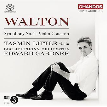 Walton - Sym 1 & viool Cto [SACD] USA import