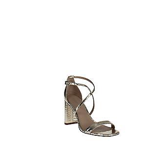 Via Spiga   Sabinne Snake-Embossed Block-Heel Sandals