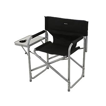 Sedile Directors Steel Frame Folding Camping Garden Chair and Side Table