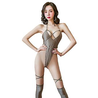 Regenboghorn Sexy Revealing Lingerie Nightdress Lace Sling Pajamas FL6973