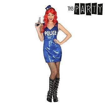 Kostüm für Erwachsene Polizistin