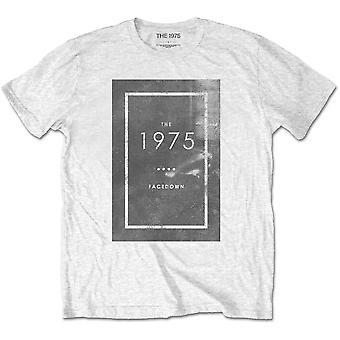The 1975 - Facedown Men's XX-Large T-Shirt - White