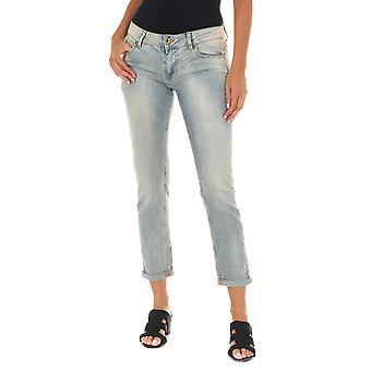MET Mujeres Jeans Frenky Azul