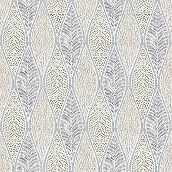 Tempo Gold Leaf Wallpaper