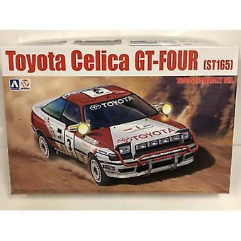 1990 Toyota Celica GT Neljä ST165 Safari Rally 1:24 Mallisarja Beemax 24006