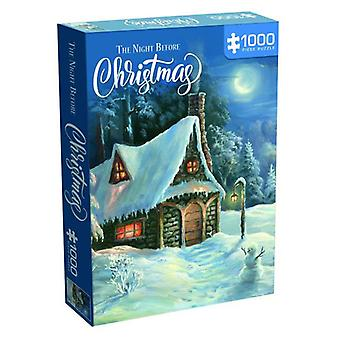 Il puzzle della notte prima di Natale (1000 pezzi)