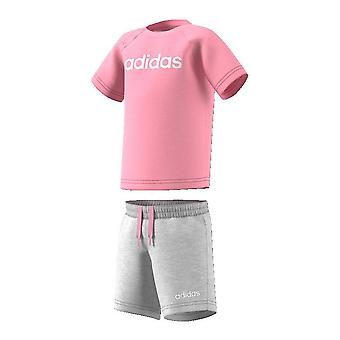 Sports Outfit for Baby Adidas I OIN SUM SET DV1269 Pink