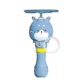 Copoz Bubble Stick Rising Bubble Flying Bamboo Dragonfly Aircraft Bubble Machine(Blue)
