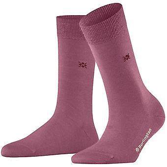 Burlington Bloomsbury Socken - Dark Rose Pink