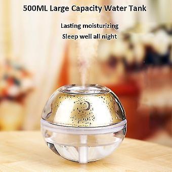 High quality 500ml air humidifier usb ultrasonic aromatherapy diffuser star sky lamp |humidifiers #4612