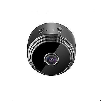 1080P Беспроводная HD магнитная IP-камера с ночным видением (ЧЕРНЫЙ)