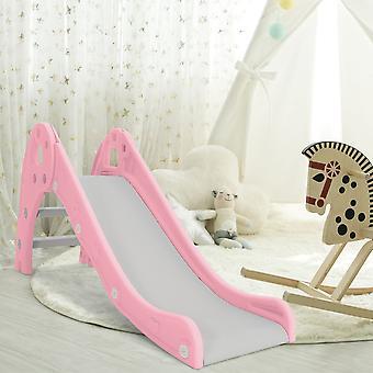 Rosa Plastik Rutsche Kleinkinder KinderKletterer Spielplatzausrüstung Outdoor Indoor