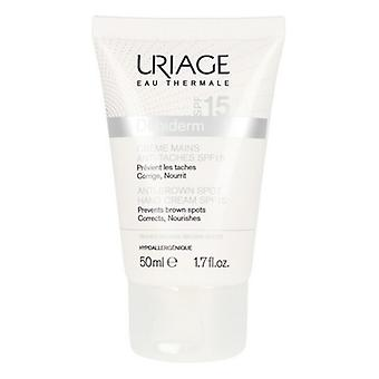 Anti-Brown Spot Hand Cream D piderm Uriage Spf 15 (50 ml)