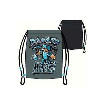 Minecraft Diamant Gruvearbeider! gym bag sko bag