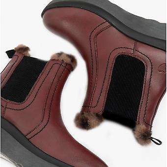 Heavenly Feet Kindred Ladies Ankle Boots Wine
