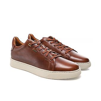 Geox Leather Low-Top Coryan Trainers