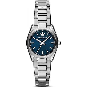 Emporio Armani argint din oțel inoxidabil AR6029 ceas pentru femei