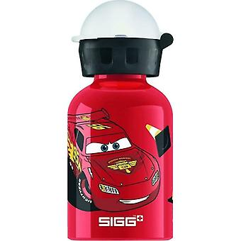 "SIGG ""Cars Lightning McQueen"" 300ml Aluminium Drinking Bottle, Pink"