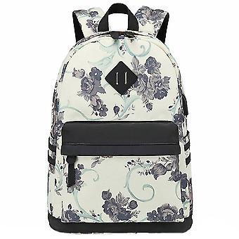 Sac à dos floral satchel sac à dos avec port usb