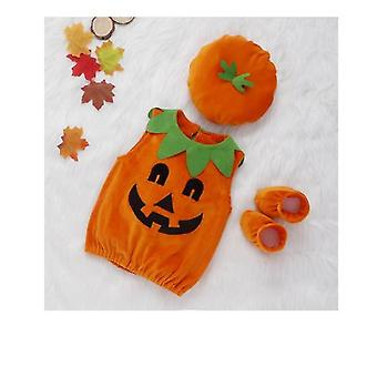 Gyermek tök jelmez set karácsonyi Halloween Party Jelmez