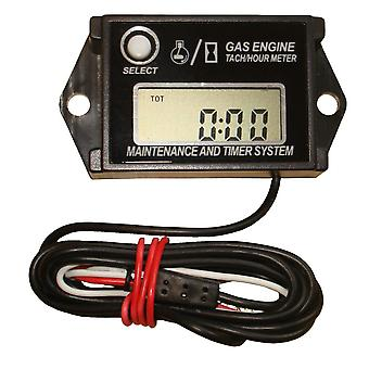 Hour & RPM Engine Meter Suitable For 2 & 4 Stroke Engines