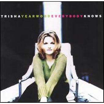 Trisha Yearwood - Everybody Knows [CD] USA import